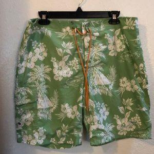J Crew Knee Length Floral Boardshorts